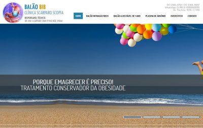 Imagem do Site da Clínica Scarparo Scopia