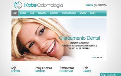 Imagem do Site da Kobe Odontologia