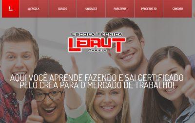 Imagem do Site da Escola Leiaut