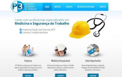 Imagem do Site da P3 Medicina