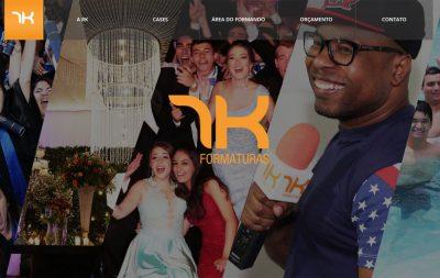 Imagem do Site da RK Formaturas