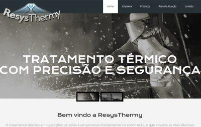 Imagem do Site da Resys Thermy