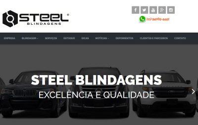 Imagem do Site da Steel Blindagens
