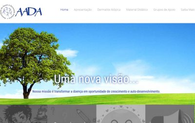 Imagem do Site da AADA