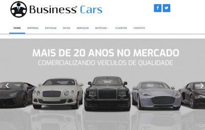 Imagem do Site da Business Cars