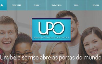 Imagem do Site da Clínica UPO