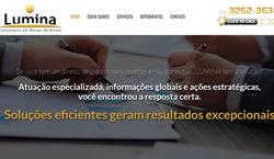 Site Lumina Consultoria
