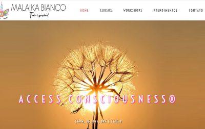 Imagem do Site da Malaika Bianco